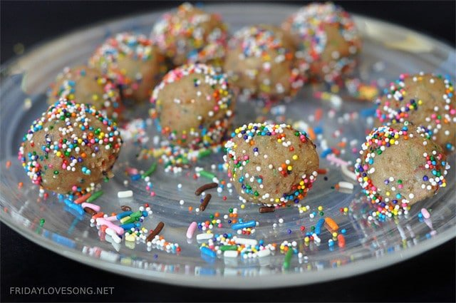 no bake birthday protein cakes