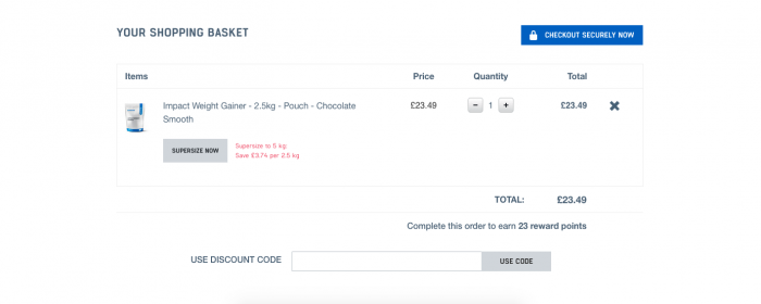 Myprotein coupon code