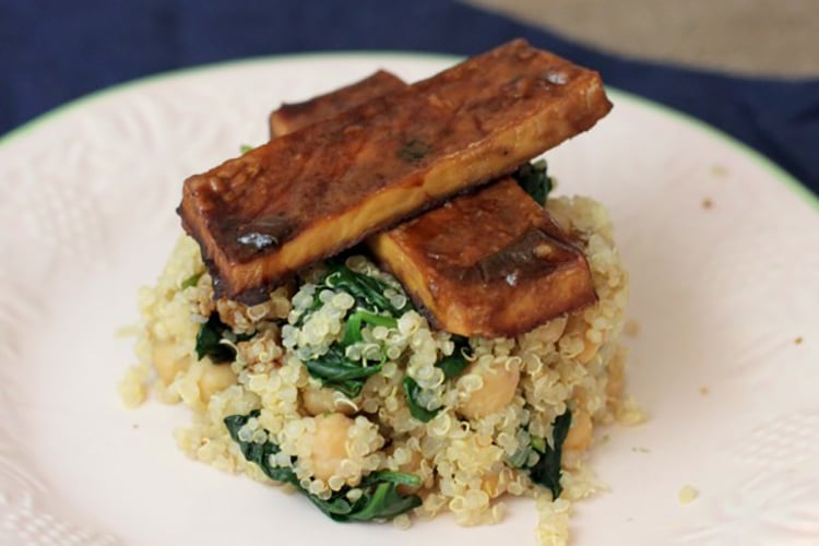baked-tofu-chickpea-spinach