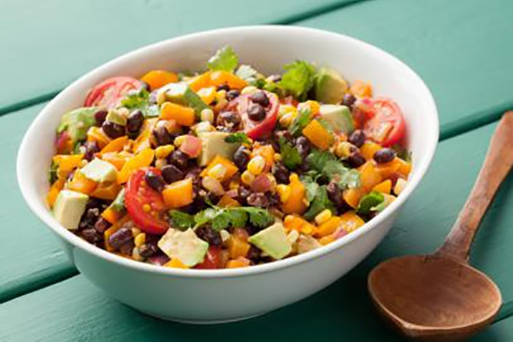 black-bean-salad-high-protein