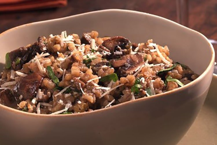 mushroom-risotto-high-protein
