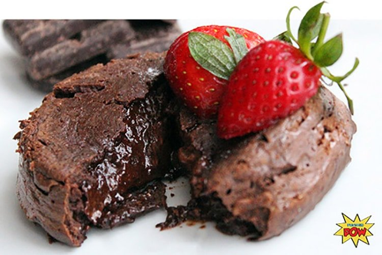 protein-chocolate-lava-cakes
