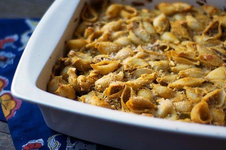 pumpkin-ricotta-pasta-bake