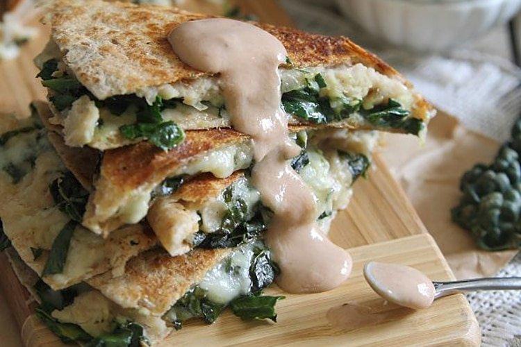 white-bean-and-kale-quesadillas