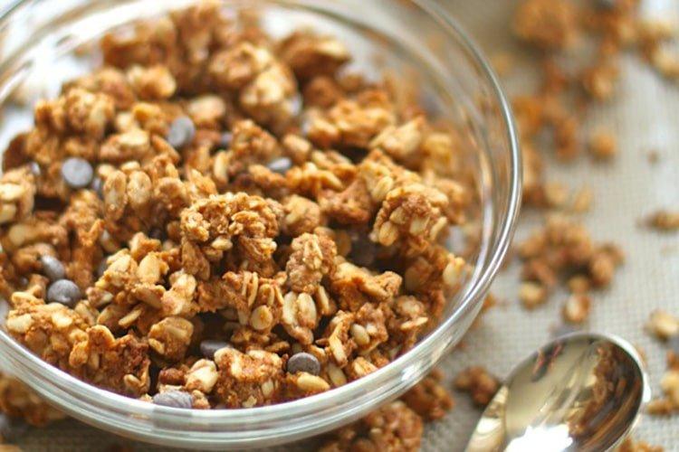 Almond-Butter-Protein-Granola