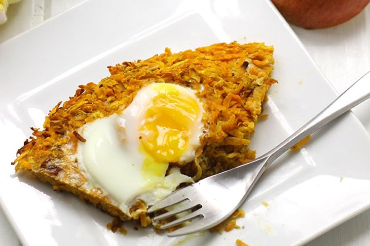 Sweet-Potato-and-Apple-Latke-Cake