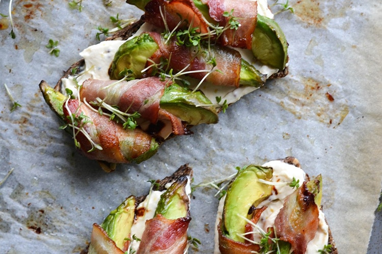 avocado-on-toast-with-bacon