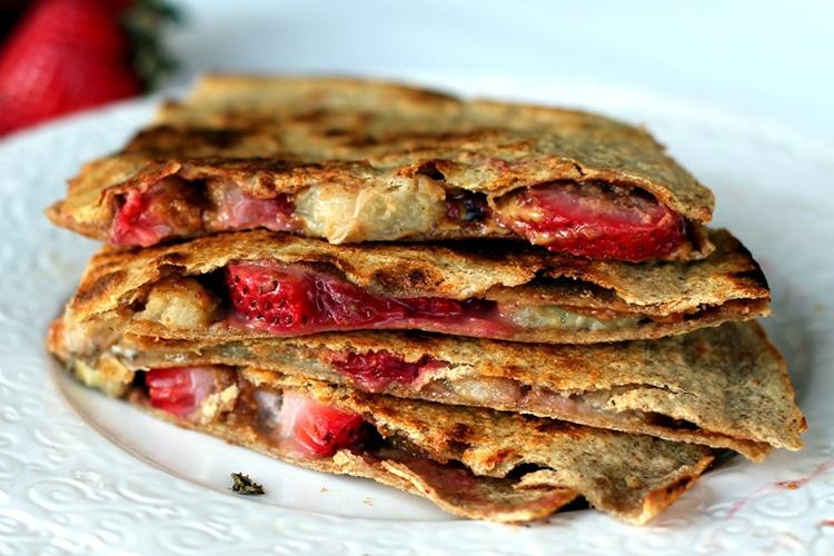 banana-strawberry-pb-quesadillas