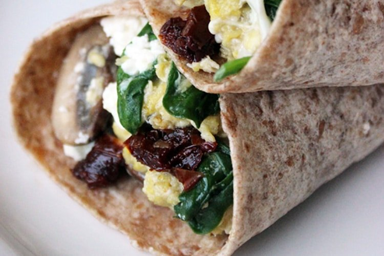 spinach-and-feta-wrap