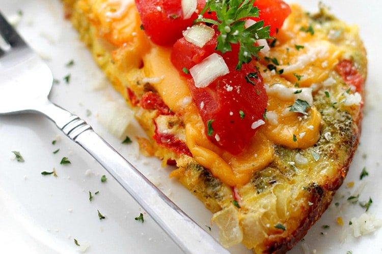 veggie-Omelette-Wedges