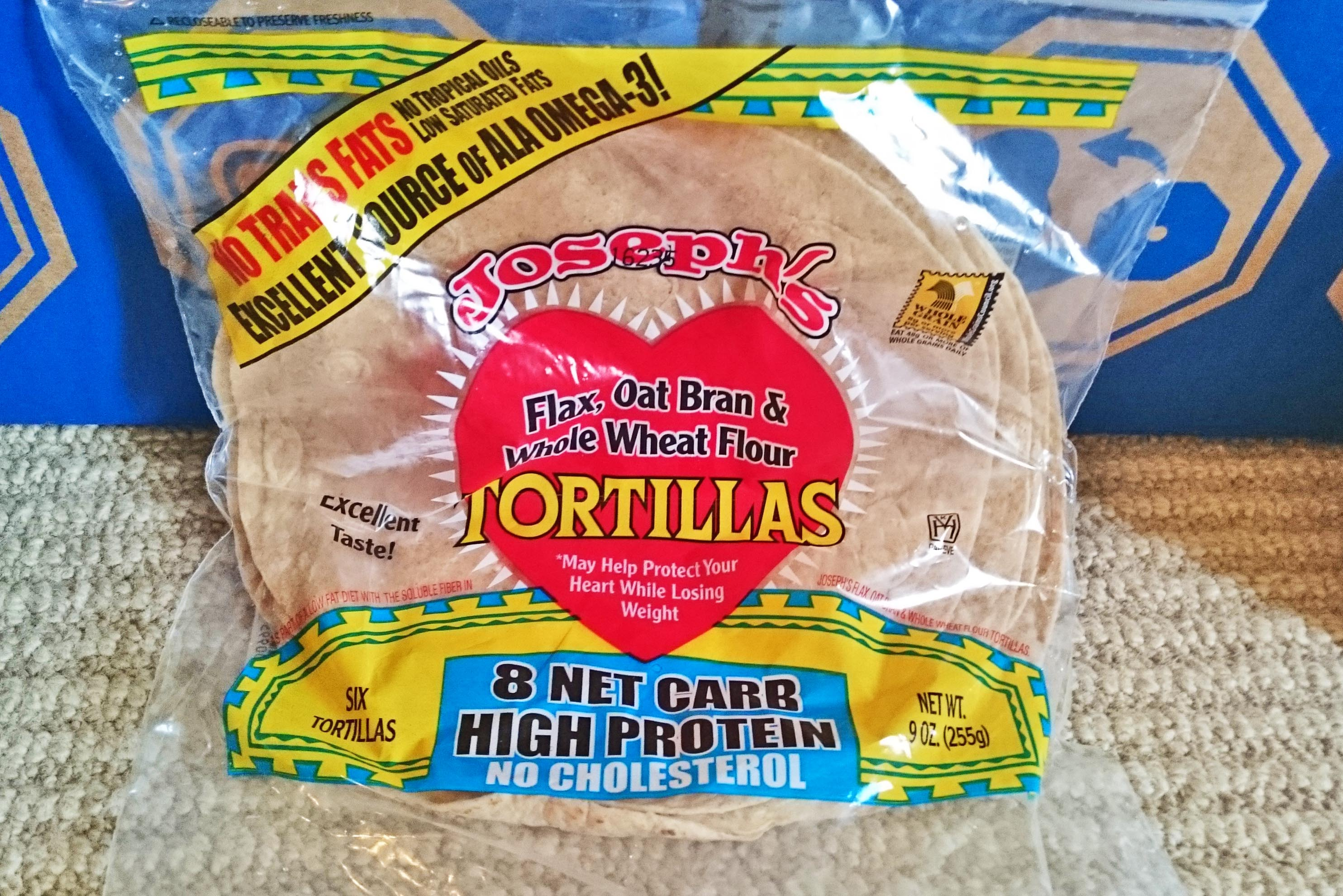 Musclefood Low Carb Tortillas