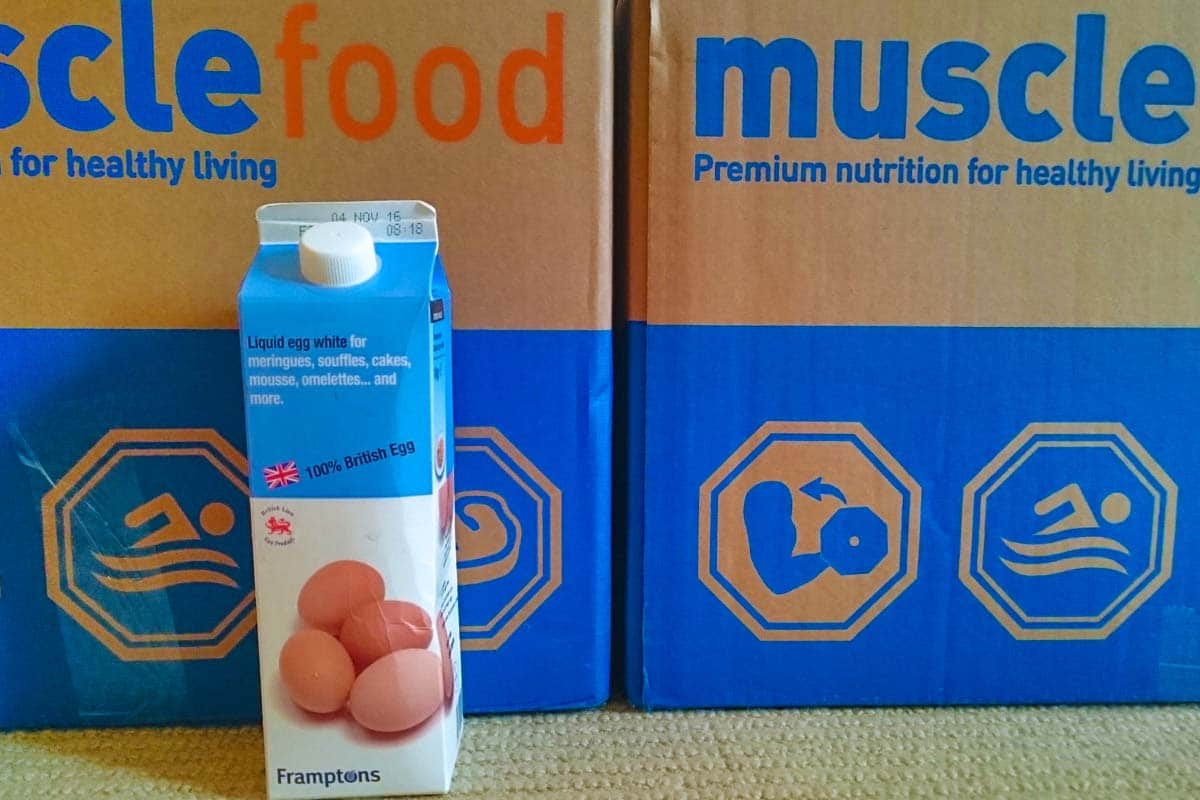Musclefood Liquid Egg Whites
