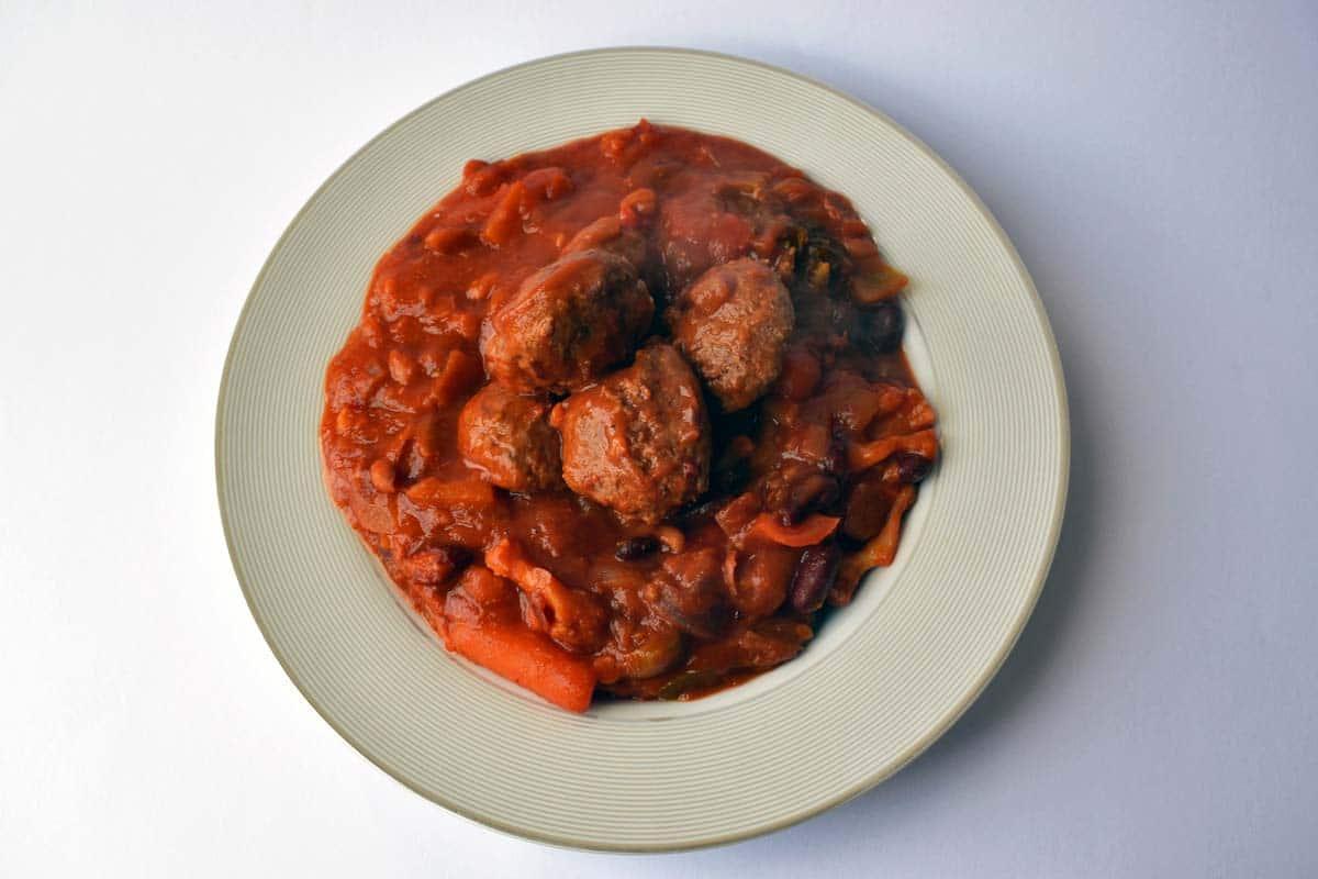 Musclefood Meatballs