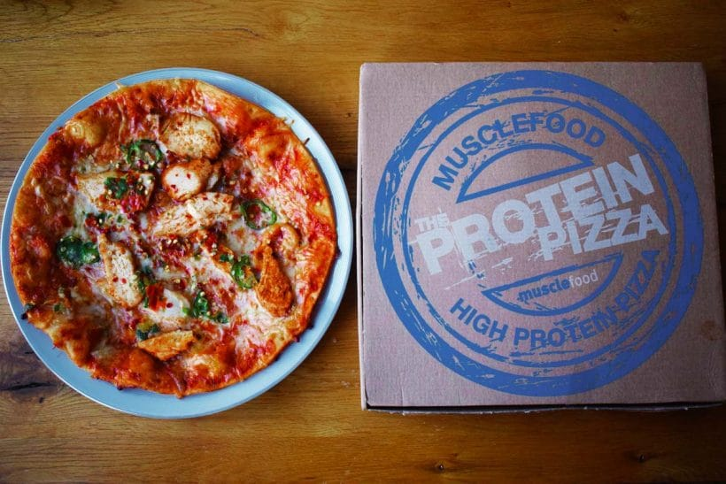 Musclefood protein pizza