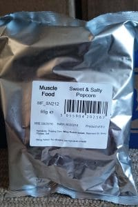 Sweet and Salty Musclefood Popcorn