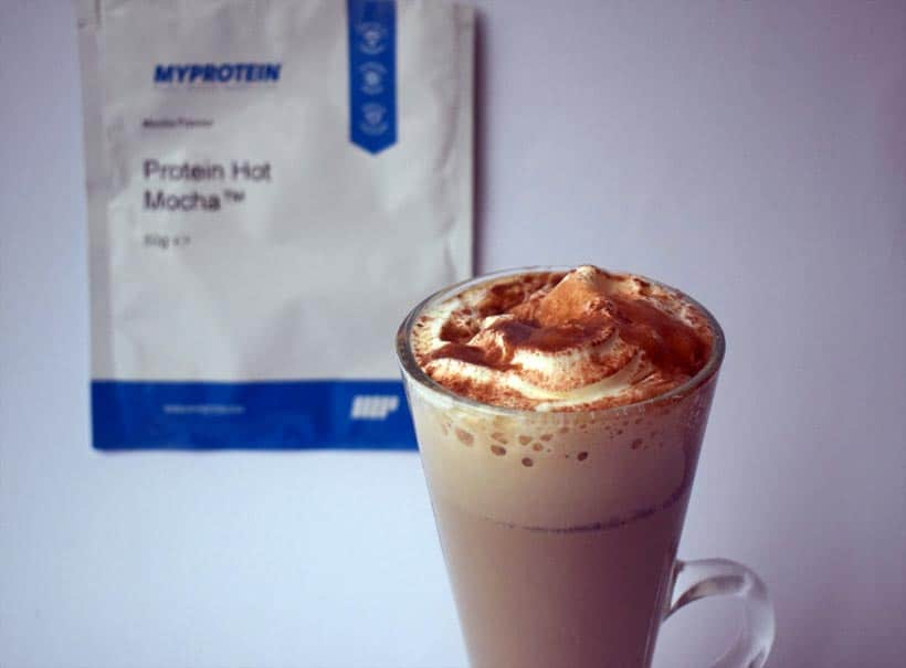 Protein Hot Chocolate and protein Hot Mocha