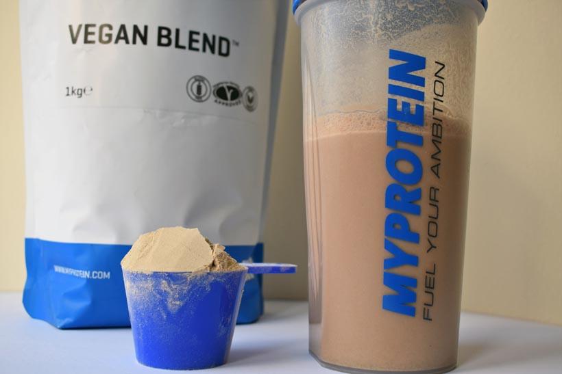 Vegan blend protein powder