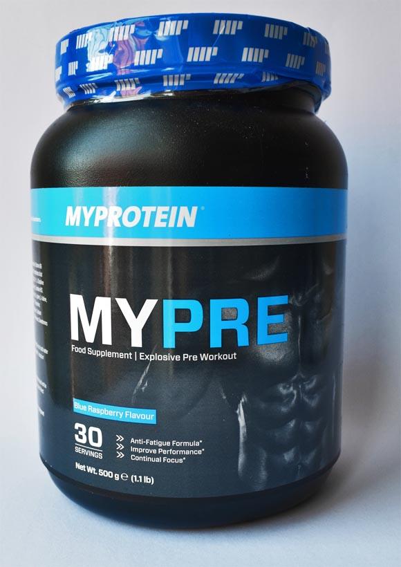 Pre-Workout MyProtein MyPre