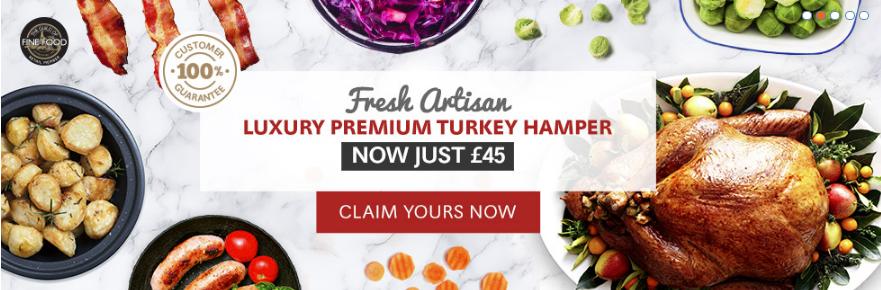 Luxury Premium Turkey Hamper