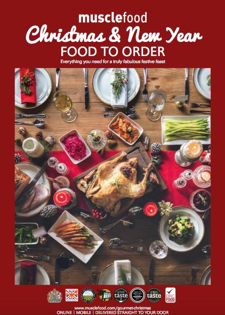 christmas musclefood brochure