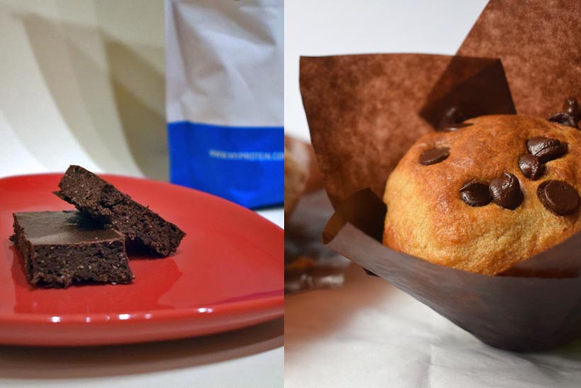 Protein Brownie Mix and Protein Muffin Mix
