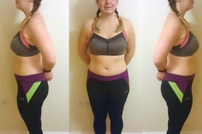 progress after 20 days on fat burners
