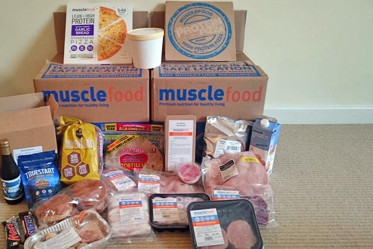Musclefood delivery and packaging - get 10% off this with working promo code