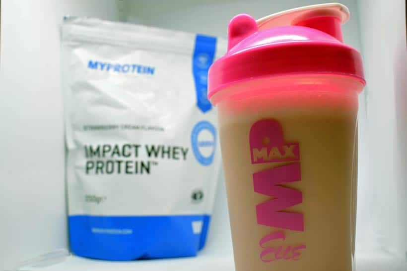 Impact WHey protein from Myprotein