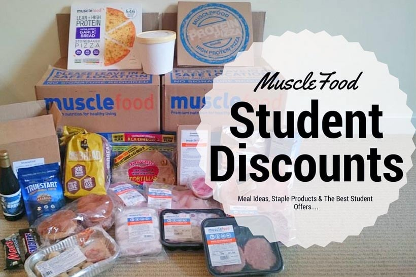 Musclefood student discount title photo