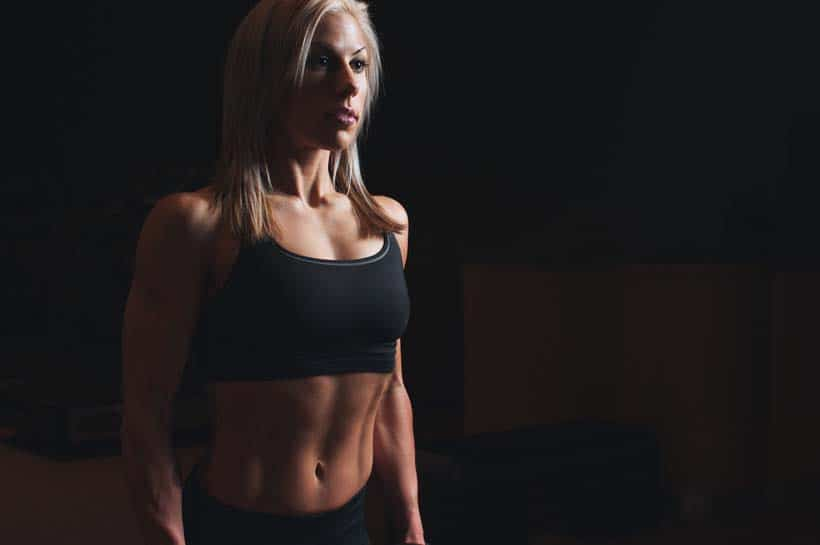 Girl With Abs STrength Training