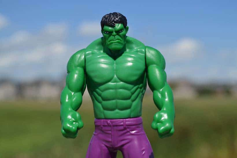 hulk muscle strength