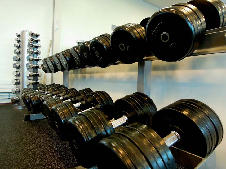 weights dumbells progression