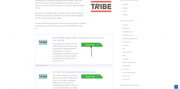 2017 WeAreTribe Promo Codes TRIBE Discount Codes Deals