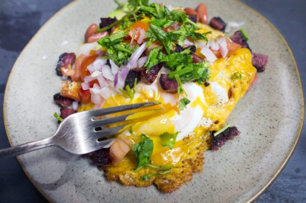 Hangover Breakfast Taco