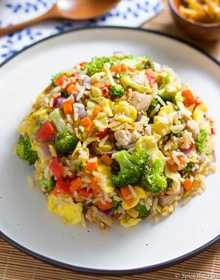 Healthy Pork Fried Rice