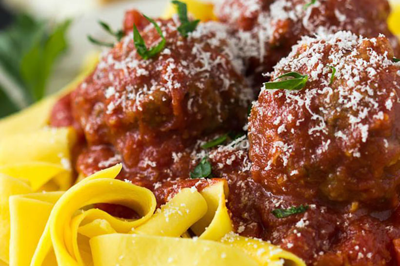 28.Crockpot Meatballs