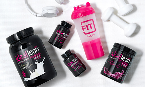 idealfit bcaa's and other products