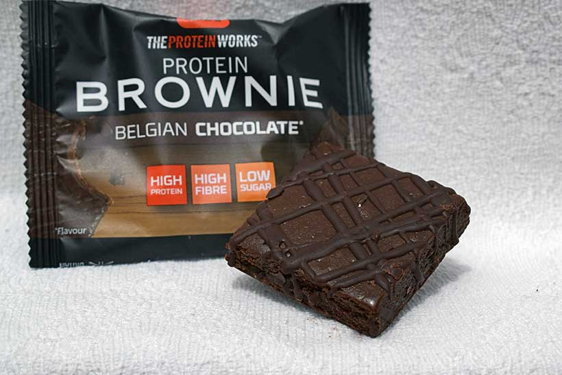 The protein works chocolate brownie