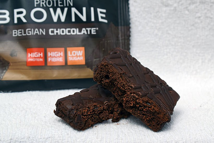 The protein works belgian chocolate protein brownie