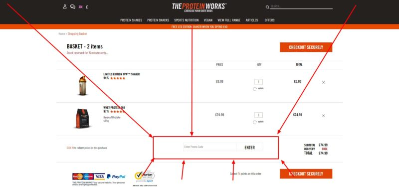 how-to-enter-your-voucher-code-for-The-Protein-Works